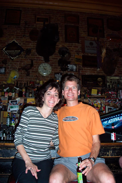 Michelle & Bill at 2003 Western States