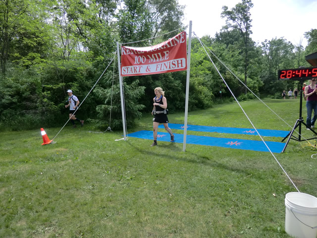 Sunday Morning at the Finish : Sunday June 5, 2011