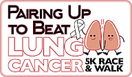 logo: Pairing up to Beat Lung Cancer 5k / 1M