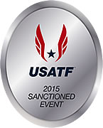[Logo: USATF Sanction]