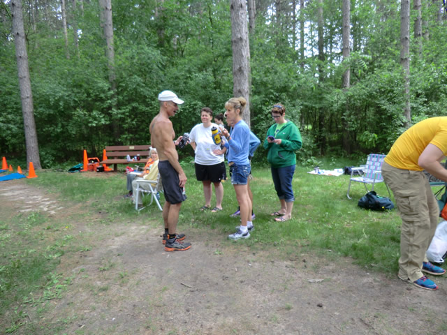 Saturday June 1st - Scuppernong Aid Station: 31.6 Miles