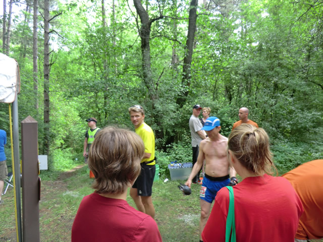 Saturday June 1st - Hwy ZZ Aid Station: 26.6 Miles