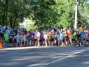 Start of the 1 Mile Kids' Run