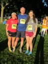 2 generations of Kohler runners ready to run in the glow of the Full Moon