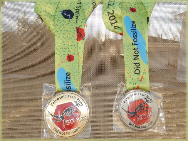 [Finishers Medal: Paleozoic Trail Runs - Cambrian Spring]