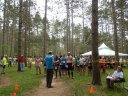 Start of the 50 Kilometer at Scuppernong Aid Station : Saturday June 7th, 2014