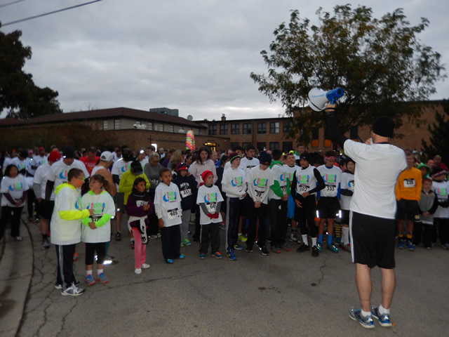 Prior to Race Start of MSW Light Up the Night : Saturday October 4, 2014