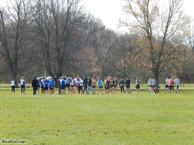 Starting Line of the Masters Race : Sunday November 9, 2014