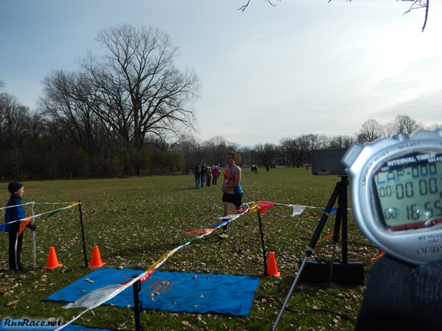 Men's Masters Champion Jeff Hojnacki of Track and Trough : Sunday November 9, 2014