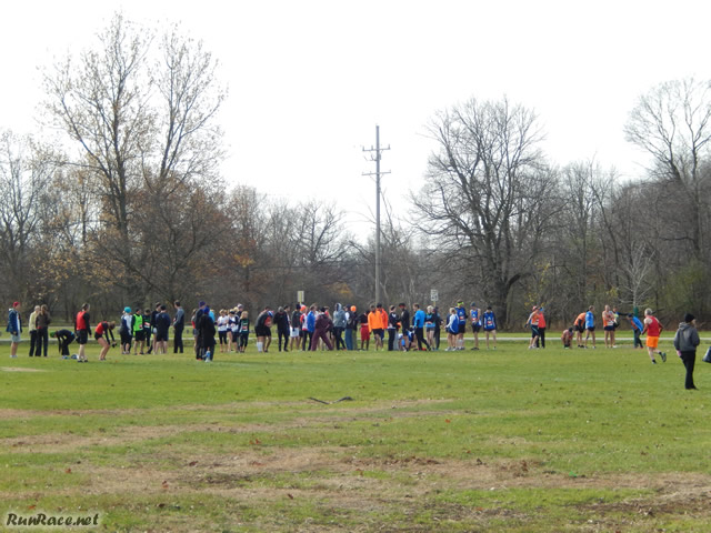 Starting Line of the Open Race : Sunday November 9, 2014