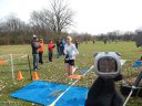 Women's Open Champion Laura Batterink of Evanston Running Club : Sunday November 9, 2014