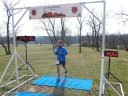 50-Km First Place Finisher, Jean-Bernard Flanagan : Saturday November 15, 2014