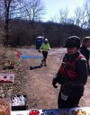 Action at Ordovician Green Aid Station : Saturday March 28, 2015