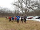 Start of Paleo-Camb 50-Km : Saturday March 22, 2014