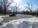 Palos Park Woods-North on the Day After Race Day : Sunday March 23, 2014