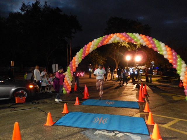 Action from the Finish Line of MSW 5k Race : Saturday October 4, 2014