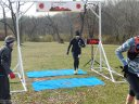 50-Km Runners Complete their First Lap : Saturday November 15, 2014