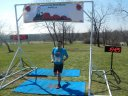 Dave Caldwell finishes in second place among Silurian Spring 25-Km runners!