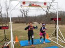 Action at Pioneer Woods Start/Finish Area